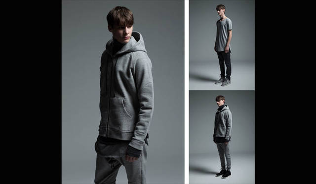<strong>REVISED|リバイズド</strong><br /><strong>2015-16年 秋冬コレクション</strong> ジップアップ パーカ 4万2120円