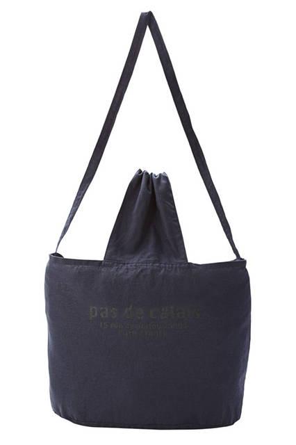 <strong>pas de calais パドカレ</strong><br />2015-16年秋冬コレクション「パリ エディション コレクション」Paris storeアドレス2Way Bag(ネイビー)