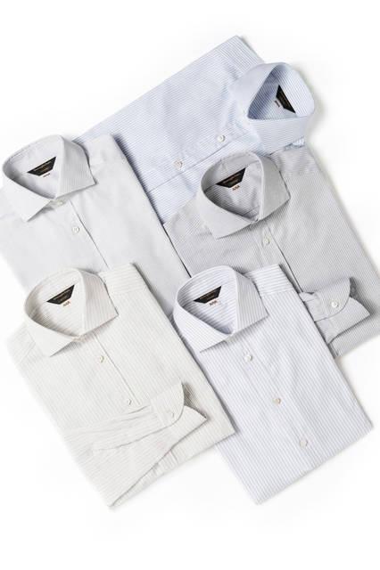 シャツ各11万7720円/エルメネジルド ゼニア