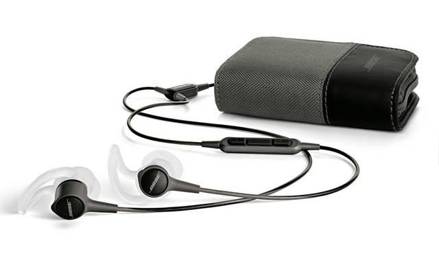 <strong>BOSE|ボーズ</strong><br />「Bose&reg; SoundTrue Ultra in-ear headphones」スマートフォン対応モデル / Apple製品対応モデル ともに1万8360円