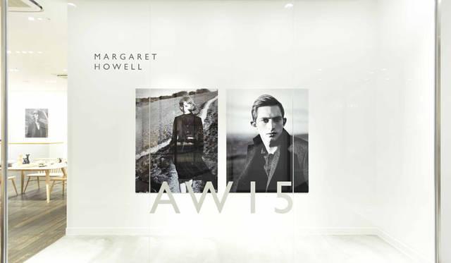 <strong>MARGARET HOWELL|マーガレット・ハウエル</strong><br />「マーガレット・ハウエル ショップ&コーヒー 京都BAL」