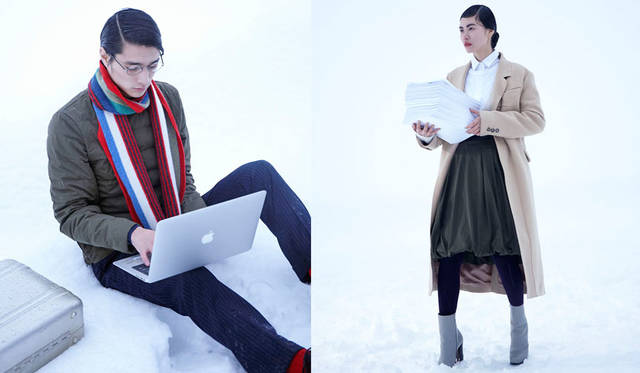 <strong>YOSOOU|粧う</strong><br />2015-16年秋冬コレクション