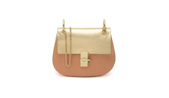 DREW  SMALL SHOULDER BAG WITH CHAIN [W23.5×H21×D8cm] 21万4920円 <br />※ポップアップブティック限定アイテム