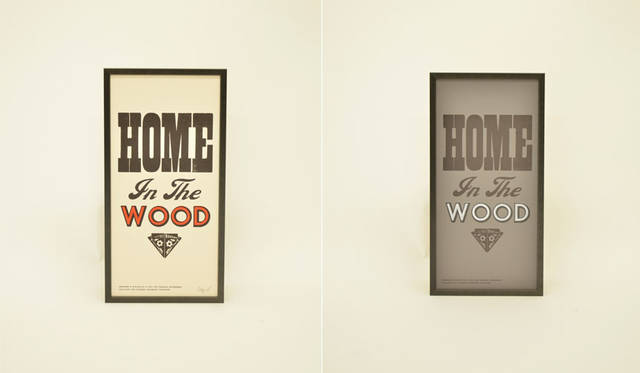 <strong>journal standard Furniture|ジャーナル スタンダード ファニチャー</strong><br />A TWO PIPE PROBLEM LETTERPRESS×journal standard Furniture 「HOME IN THE WOOD」各1万6740円