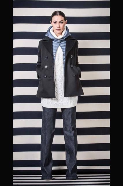 <strong>MARINA YACHTING|マリーナ ヨッティング</strong><br />2015-16年秋冬コレクション アウターウェア12万7440円、パンツ2万9160円
