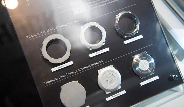 MT-Gの特徴でもある鍛造ケース