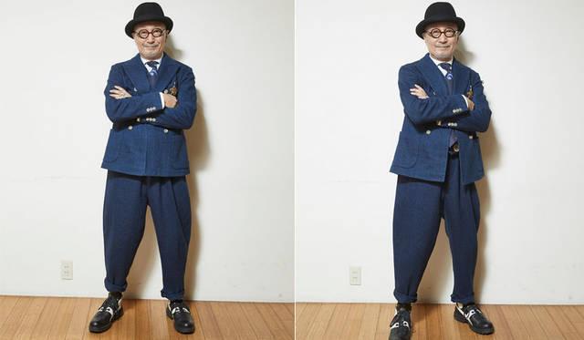<strong>TAKEO KIKUCHI|タケオキクチ</strong><br />菊池武夫氏は今春開催したショーピースを着用