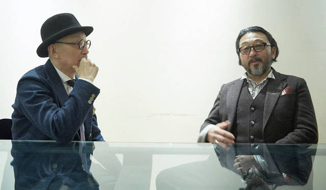 <strong>TAKEO KIKUCHI|タケオキクチ</strong><br />菊池武夫氏と大久保篤志氏