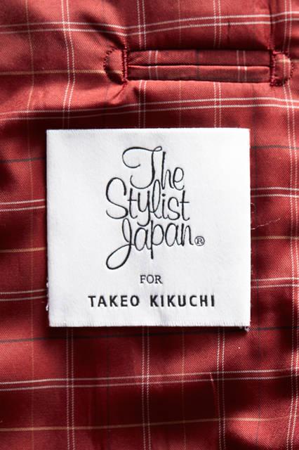 「The Stylist Japan × TAKEO KIKUCHI」ジャケット