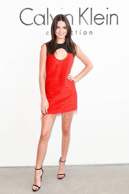 <strong> Kendall Jenner|ケンダル・ジェンナー</strong><br /><br /> カルバン・クライン コレクションのショー会場・ニューヨーク