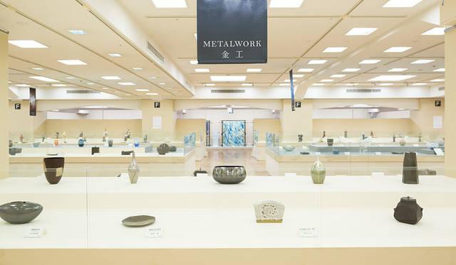 公募展「第62回 日本伝統工芸展」 展示会場