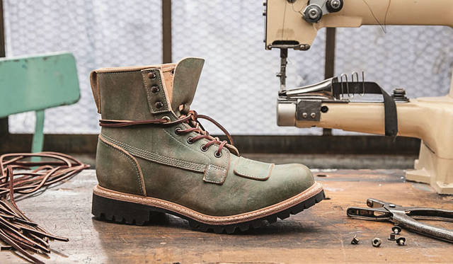<strong>Timberland|ティンバーランド</strong><br />「Boot Company(ブーツカンパニー)」 Lineman Collection「6In Lineman Boot」8万5320円 ※伊勢丹先行発売