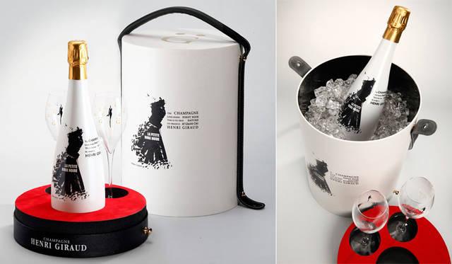 <strong>HENRI GIRAUD|アンリ・ジロー</strong><br />限定アイテム「La Petite Robe Noire Box by Didier Ludot & Champagne Henri Giraud」