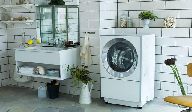 毎日使いやすい機能性はもちろん空間調和も楽しめる、快適な洗濯スタイルを提案