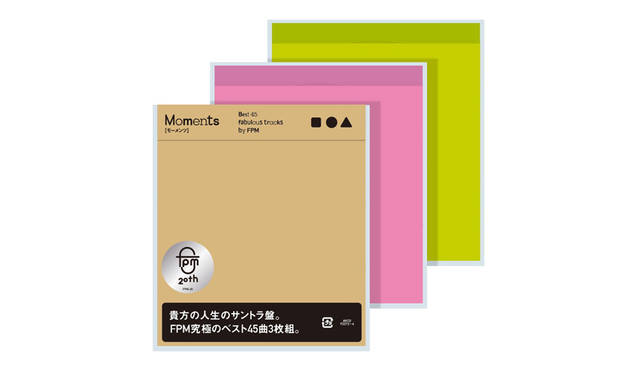 <strong>『Moments Best 45 fabulous tracks by FPM』</strong> ※初回限定特殊パッケージ仕様3枚組<br /> レーベル avex trax<br /> 価格 4320円<br /> 発売日 9月30日(水)<br /> <br /> <strong>『Alone』『Rapture』『Lust』</strong><br /> レーベル avex trax<br /> 価格 各2160円<br /> 発売日 9月30日(水)<br />