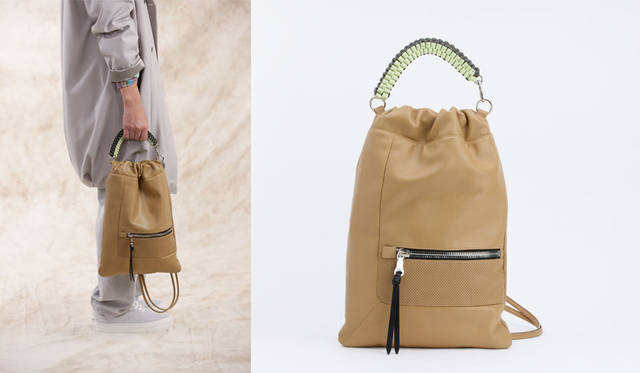 <strong>ithelicy イザリシー</strong><br />2015-16年秋冬コレクション 「LOTUS-II」 4万5360円