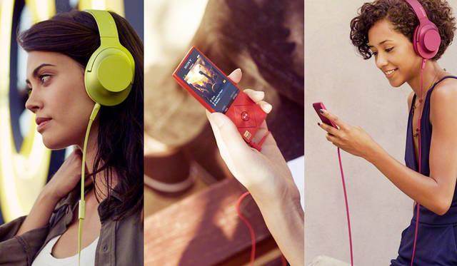 ハイレゾ対応のヘッドホン「h.earシリーズ」と、ウォークマン「NW-A20シリーズ」を発売