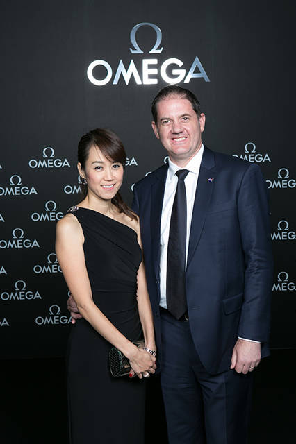 Mr. Christopher Blackerby, NASA Attachein Asia and his wife