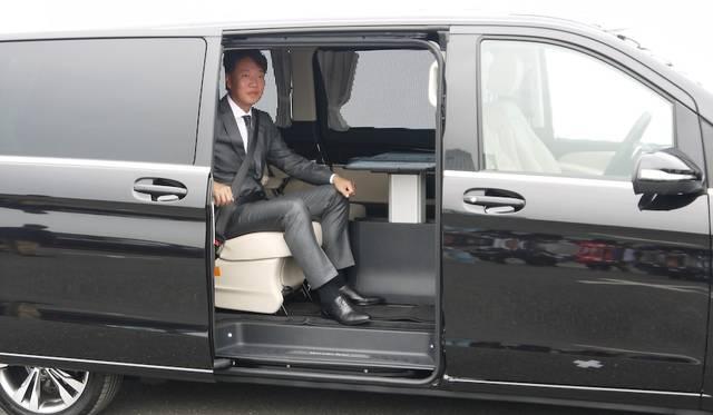 メルセデス・ベンツ日本 代表取締役社長兼CEOの上野金太郎氏