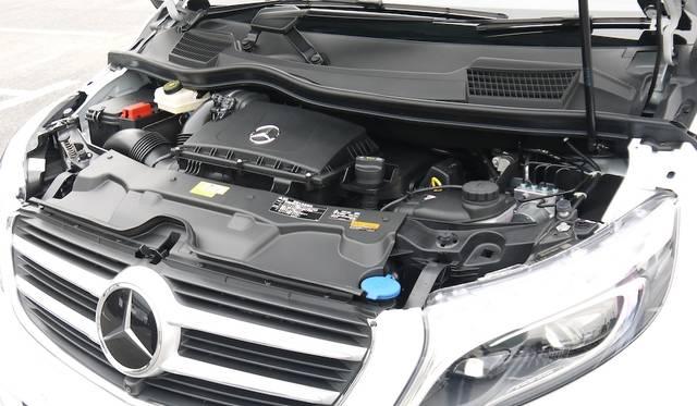 クリーン技術BlueTECを搭載した2.2リッターディーゼルエンジンは日本専用に開発されたもの