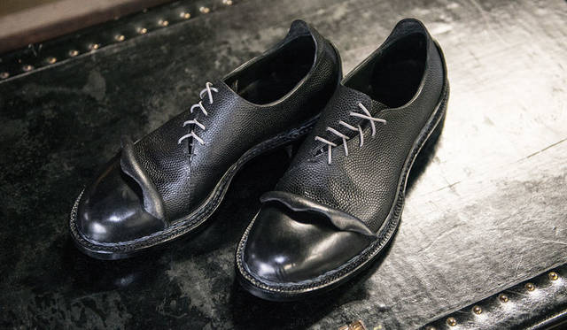 <strong>ISETAN MEN'S|イセタンメンズ</strong><br />「JAPAN靴博2015」に出展する「Nao Yokoo Arts & Artisan」モデル「NY-BR3」(サイズ26cm)(価格未定)