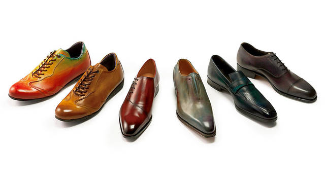 "<strong>MITSUKOSHI 銀座三越</strong><br />銀座三越5階「紳士服・紳士雑貨フロア」リモデルオープン ""装いに遊び心""をテーマにしたカラーオーダーが楽しめる「紳士靴」"