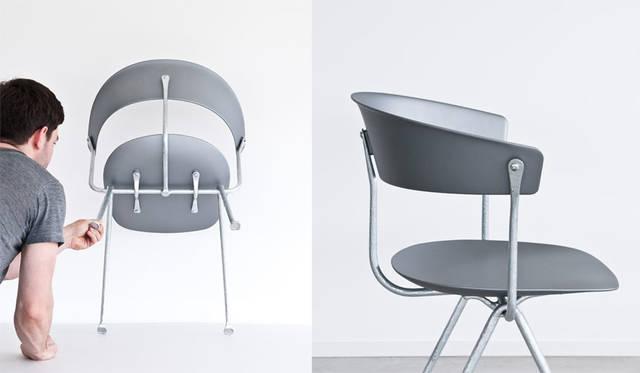 エキシビション「Objects by MAGIS」 Officina design Ronan & Erwan Bouroullec Chair 7万1280円