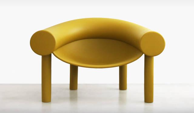 エキシビション「Objects by MAGIS」 Sam Son Low Chair design Konstantin Grcic Chair 9万円