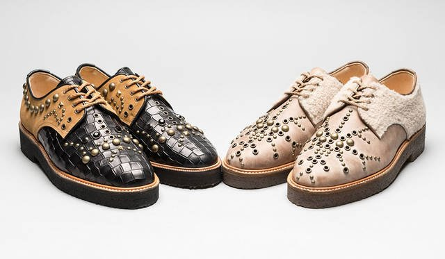 <strong>ISETAN MEN'S|イセタンメンズ</strong><br />伊勢丹新宿店メンズ館地下1階=紳士靴売場「JAPAN靴博2015」 「SALON」モデル「NO NAME」(サイズ26.5cm)(価格はともに未定)