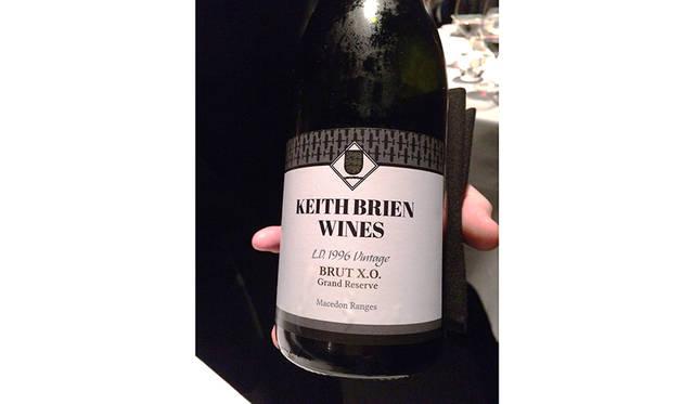 マッチングさせるワインはソムリエと相談。今回はビクトリア州への敬意を表して州産のワインをチョイス