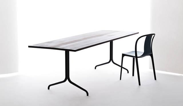 Vitraの新作家具「ベルヴィルチェア」と「ベルヴィルテーブル」