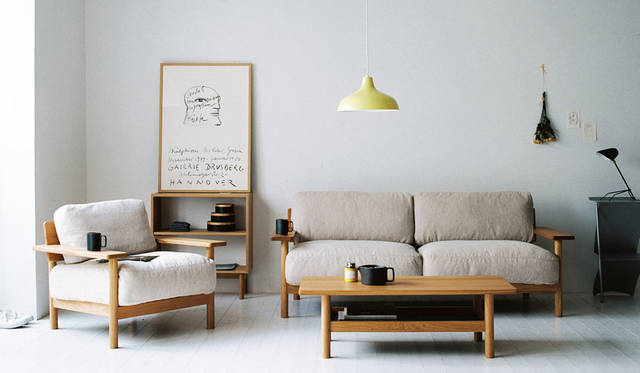 "<strong>ID&#201;E|イデー</strong><br />イデー新作家具展示会「""New Paysan""ID&#201;E New Furniture Exhibtion 2015AW」 「DIMANCHE(ディモンシュ)」シリーズ"