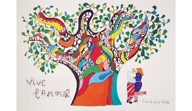ニキ・ド・サンファル「愛万歳」 1990年<br> Yoko増田静江コレクション/© 2015 NCAF, All rights reserved.