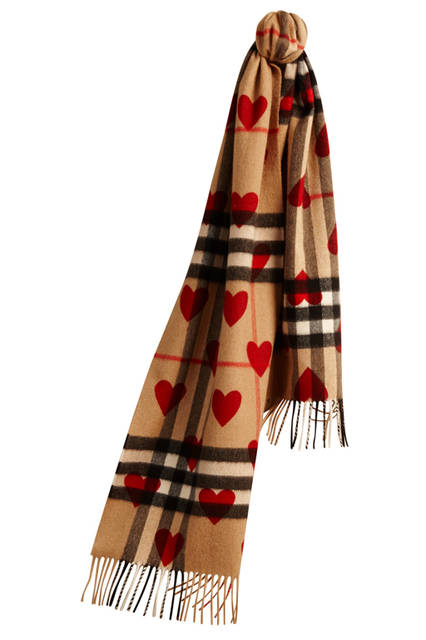 The-Classic-Cashmere-Scarf-in-Check-and-Hearts-Parade-Red