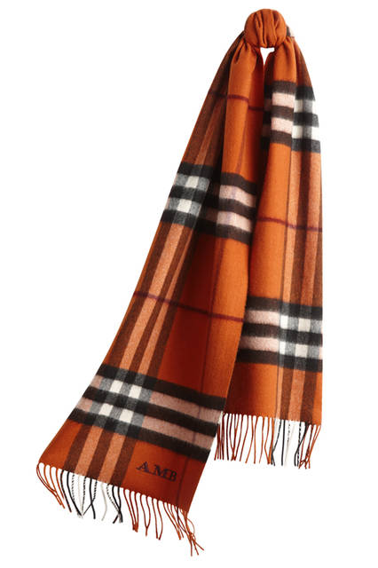 The-Classic-Cashmere-Scarf-in-Check-Burnt-Orange-Monogrammed