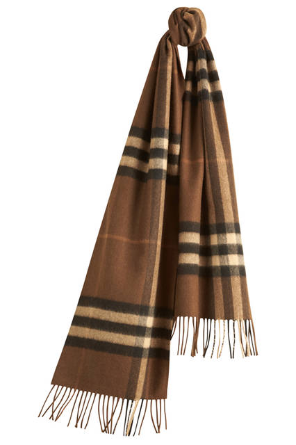 The-Classic-Cashmere-Scarf-in-Check-Oak-Brown