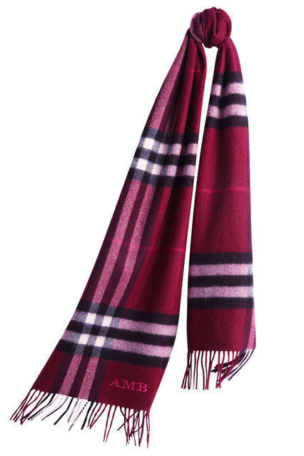 The-Classic-Cashmere-Scarf-in-Check-Plum-Monogrammed