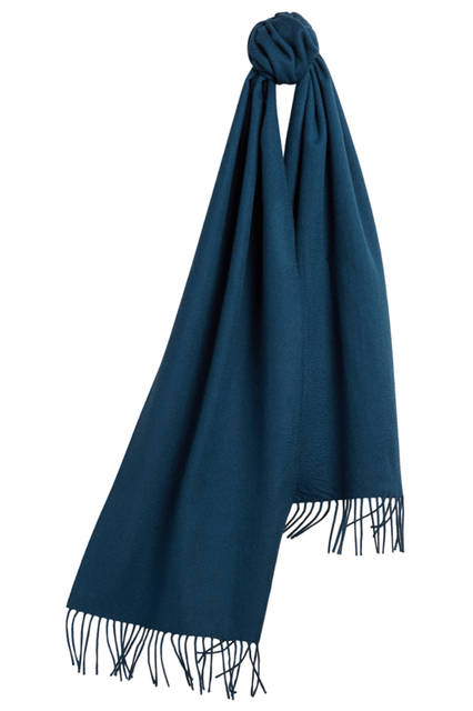 The-Classic-Cashmere-Scarf---Marine-blue