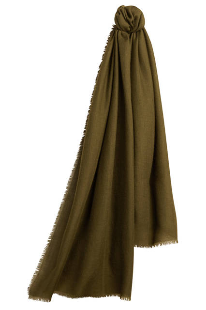 The-Lightweight-Cashmere-Scarf---Olive-Green