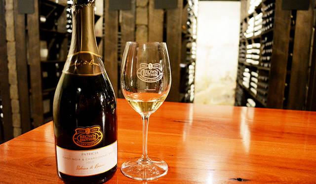 特別リクエストにより、ワインセラー内部でのテイスティングも可能