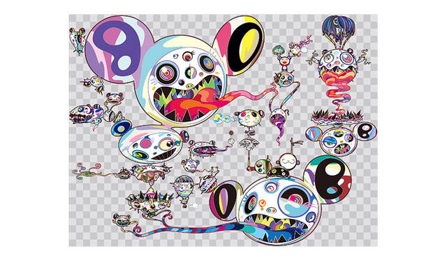 村上 隆 (タイトル未定) 制作中<br>©2015 Takashi Murakami/Kaikai Kiki Co., Ltd. All Rights Reserved.