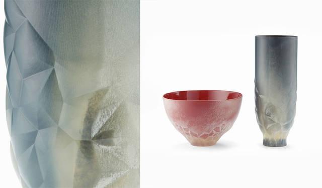 今年4月に発表したカブクとstudio仕組による「日本伝統工芸と3Dプリントの融合プロジェクト」で発表した「霧漆」を、Autodesk Gallery Pop-Up Tokyoで発表<br />https://www.rinkak.com/jp/news/autodesk-gallery-pop-up-tokyo?hl=ja