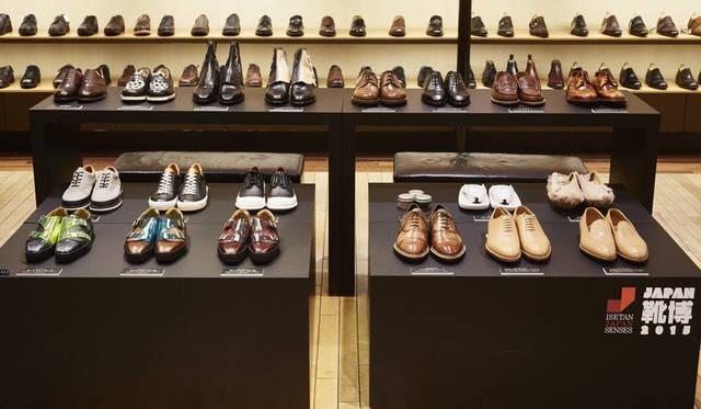 <strong>ISETAN MEN'S イセタンメンズ</strong><br />伊勢丹新宿店メンズ館地下1階=紳士靴売場「JAPAN靴博2015」