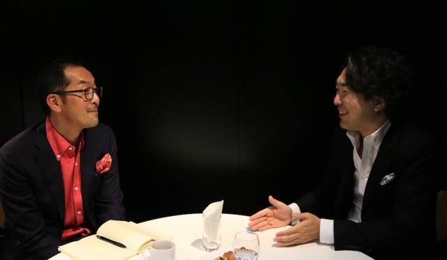左は小川フミオ氏、右は島下泰久氏