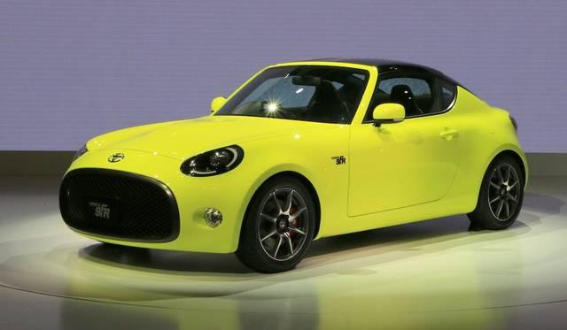 コンパクトなFRレイアウトをもつスポーツカーのコンセプトモデル