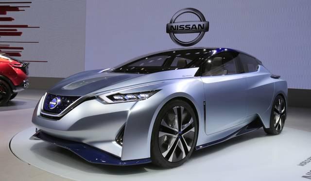 日産が発表した、完全自動運転を目指した電気自動車のコンセプトモデル。自律走行のみならず、歩行者とのコミュニケーションをはかる機能も搭載する