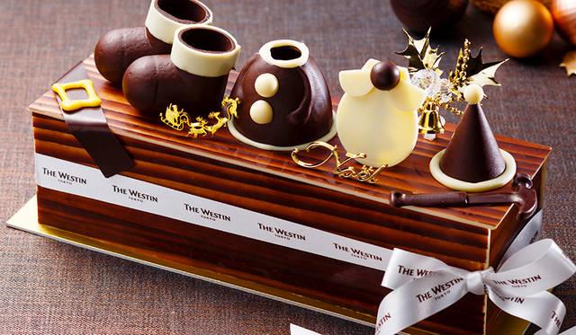 "<h2 class=""cnt_subtitle"">THE WESTIN TOKYO ウェスティンホテル東京</h2>  トップにチョコレートのオブジェをトッピングした愛らしいボックスケーキ。サンタやトナカイなどを想像させる精巧なオブジェは、見ているだけでもハッピーな気分に。味わいはマロンクリームとマロンのペーストを練りこんだスポンジを何層にも重ね、絶妙なハーモニーを奏でる。ひとつひとつ丁寧につくられるウェスティンホテル東京こだわりのクリスマスケーキが、とっておきの時間を演出。  <br /> <br />  <strong>「サンタボックス」</strong><br /> 価格 9800円(10×26センチ) ※5個限定<br /> 予約期間 12月18日(金)まで<br /> 引渡期間 12月20日(日)~25日(金)<br /> 引渡場所 ウェスティンホテル東京 1階「ジンジャーブレッドハウス」<br /> 予約方法 電話、1階「ウェスティン デリ」、ウェブサイト <br /> <br /> <div class=""article-contact""> <div class=""article-contact-head"">問い合わせ先</div> <div class=""article-contact-deta""> <p class=""article-contact-name"">ウェスティンホテル東京</p> <p class=""article-contact-tel"">Tel. 03-5423-7778(ウェスティン デリ)</p> <p class=""article-contact-url"">http://www.westin-tokyo.co.jp</p></div> </div>"