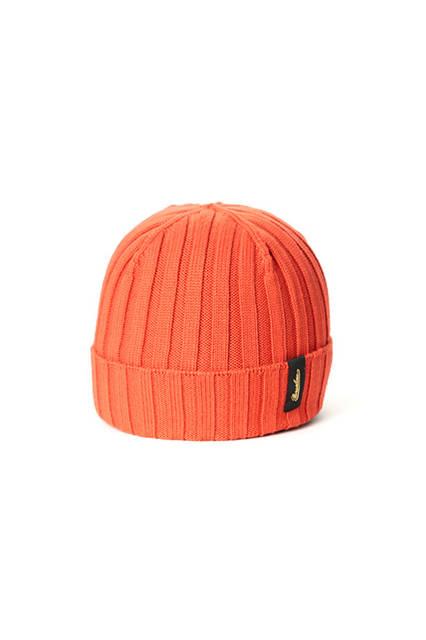リブ編みのオレンジ。専用箱付き。価格1万9440円