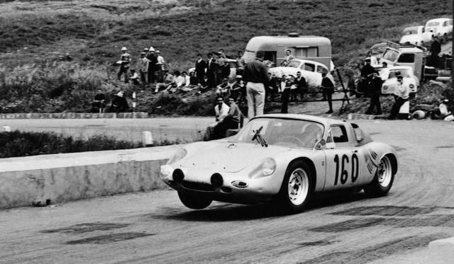 1963年のタルガ・フローリオを制した、718 GTR クーペ