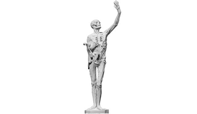 3D scan of a 1922 plaster cast of Transi de René de Chalon, 1545/1547 by Liguer Richier. Scanned in September 2015 at the Musée des Monuments Français with the Foundation Galeries Lafayette.<br>Image courtesy of the artist and Tanya Leighton, Berlin